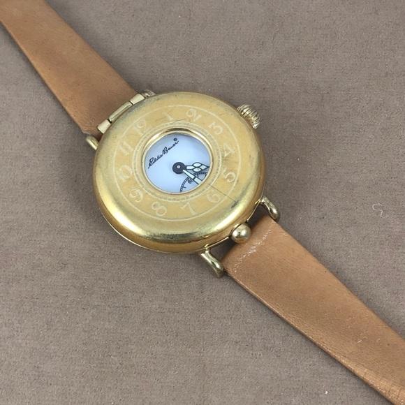 Eddie Bauer Other - Vintage Eddie Bauer 18KGP Field Watch Flip Top